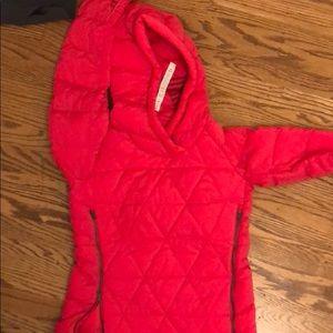 lululemon pink puffer jacket